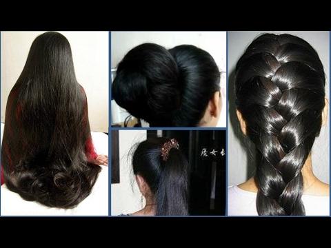How to Get Super Long Hair, Soft Hair, Silky Hair, Thicker Hair, in 1 Week |  Hair Growth Treatment