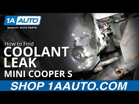 How to Find Coolant Leak 07-13 Mini Cooper S