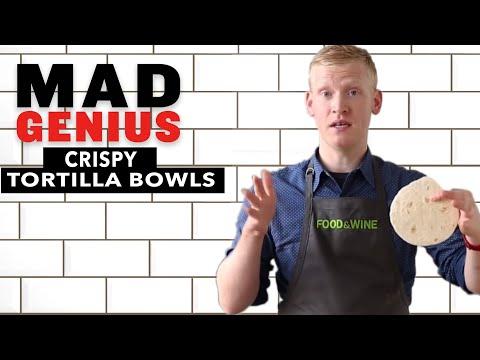 How to Make Crispy Tortilla Bowls | Food & Wine