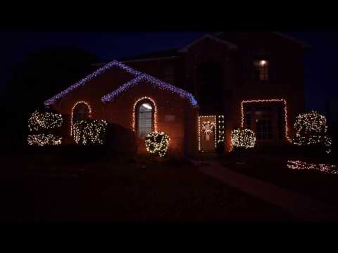 OUR AMATEUR CHRISTMAS LIGHTS INSTALLATION   WEEKEND WARRIOR