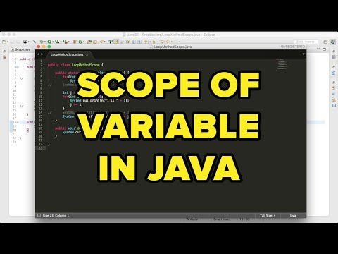 Java SE 8 | Scope of Variable ( Must Watch!  )