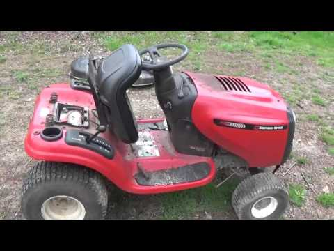 Southern States mower / Finding the right belts with out the sticker under the hood.