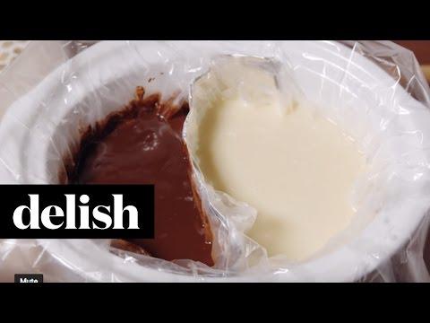 Double Chocolate Fondue   Delish