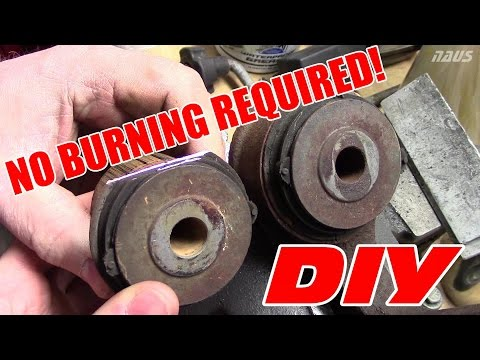 How to Remove OEM Control Arm Bushings (Torchless Method) | S2000 Front Suspension Refresh Part 2