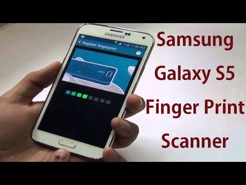 Samsung Galaxy S5 Fingerprint Scanner Setup Tutorial And Review
