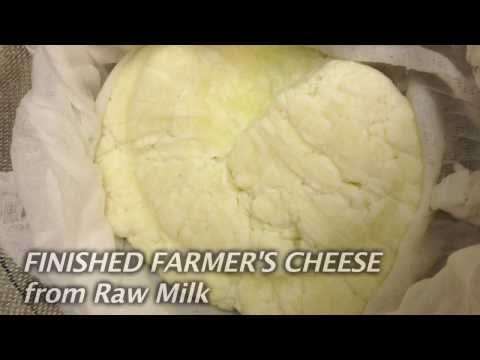 Self-Sufficient Home Recipes: Easy to Make Raw Milk Cheese