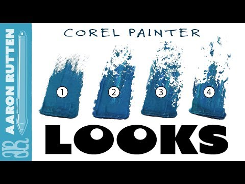 How to Use BRUSH LOOKS (Corel Painter Tutorial)