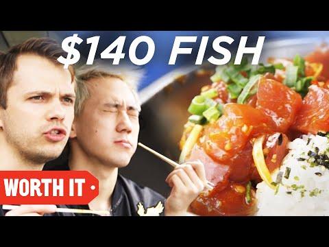 $9 Fish Vs. $140 Fish
