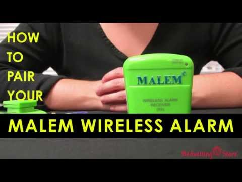 Bedwetting Store - How to Pair your Malem Wireless Alarm
