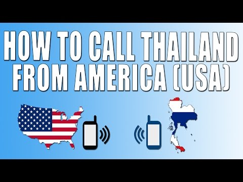 How To Call Thailand From America (USA)