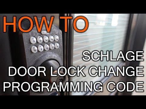 How to Change Programming Code On Schlage Door Lock