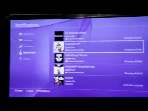 How to PAUSE DOWNLOADS on PS4