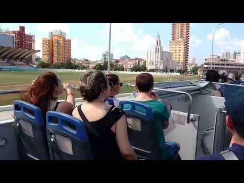 Cuba Havana Bus tour oct. 2016 , Havane Cuba Kuba