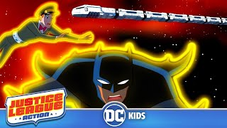 Justice League Action | Catch That Space Train!