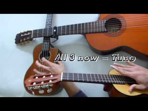 How to Play UKULELE TUTORIAL (DIFFERENCE BETWEEN GUITAR, UKULELE, AND GUITARLELE)