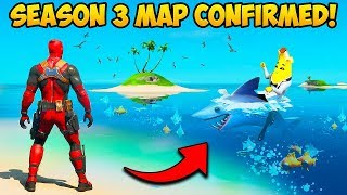 *NEW* SEASON 3 MAP CONFIRMED!! - Fortnite Funny Fails and WTF Moments! #931