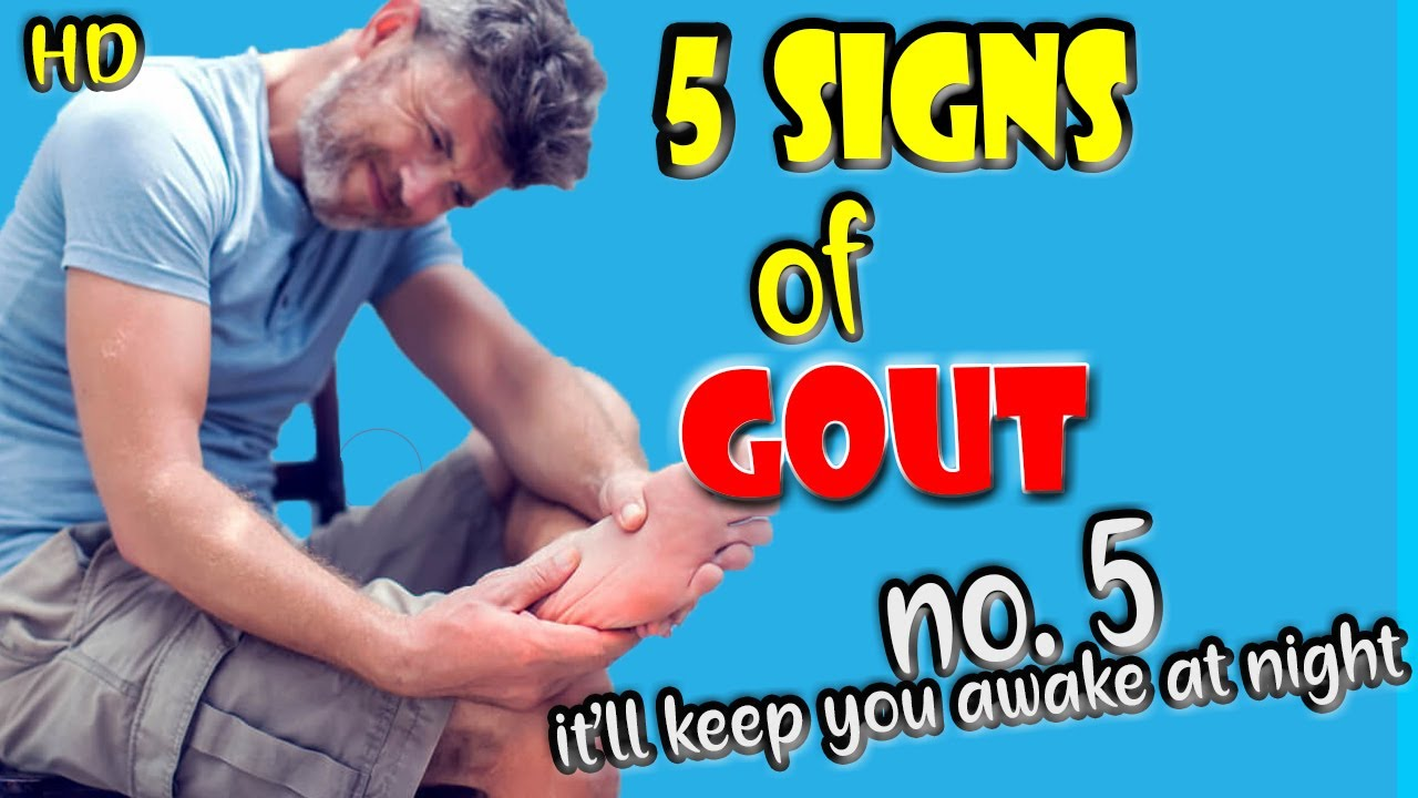 GOUT Signs and Symptoms