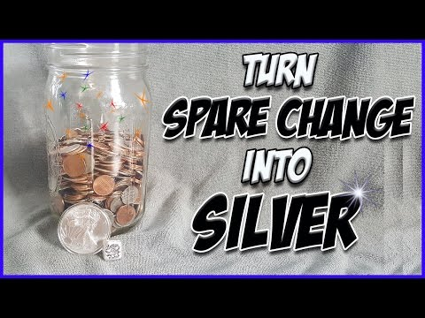 How to turn your pocket change into REAL SILVER COINS!