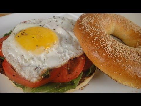 Breakfast Bagel  | Sanjeev Kapoor Khazana