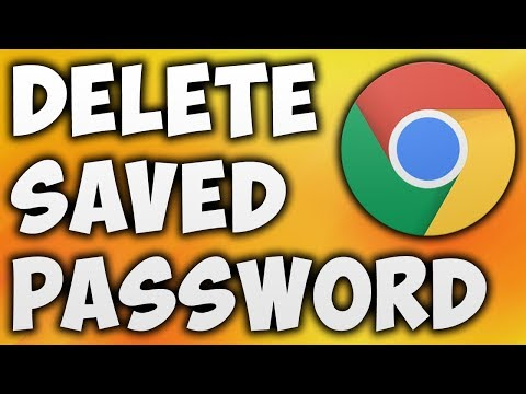 How To Delete Saved Password In Google Chrome - Remove Saved Passwords From Chrome