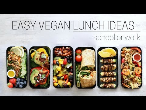 MAKE-AHEAD VEGAN LUNCH IDEAS » bento box