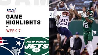 Patriots Vs Jets Week 7 Highlights NFL 2019