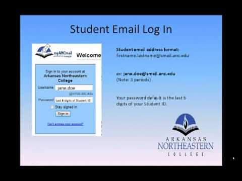 Arkansas Northeastern College School Email