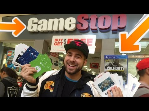 GIVING $1000 TO STRANGERS AT GAMESTOP (BUYING GIFTS PART 1)