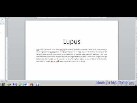 Reverse Your Fibromyalgia and Lupus