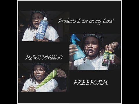 Products I use on my locs!
