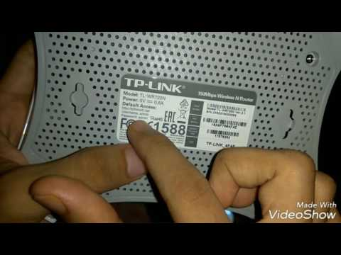 configuring a new TP-LINK 150mbps wireless router with a mobile phone!!!