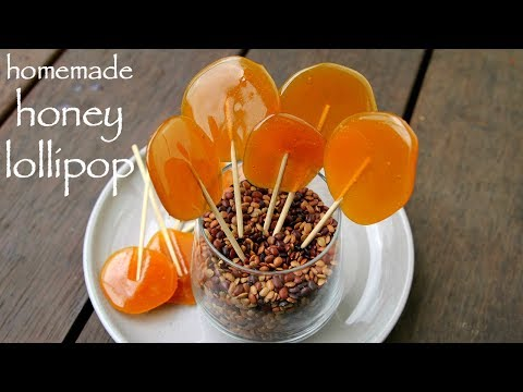 lollipop recipe | lollipop candy for sore throat | homemade honey lollipops diy