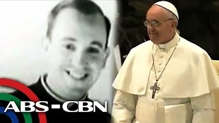 Pope Francis worked as a bouncer and had a girlfriend