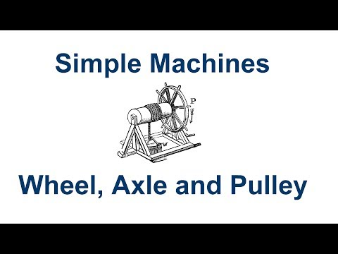 Simple Machines Wheel Axle Pulley