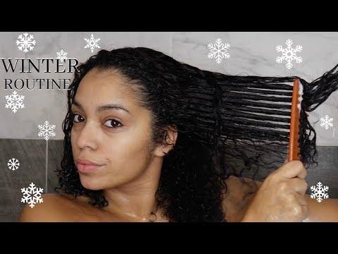 Winter Hair Routine 2017 | Natural Hair