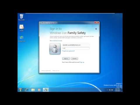 Parental Controls in Windows 7 By Eng.Abdullah Sawalha