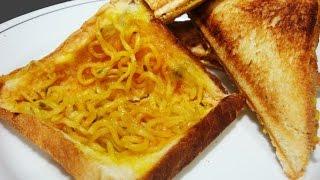 Maggi Sandwich | Kids Favorite Lunch Box Recipe | Crispy Sandwich Recipe  #EPISODE 69