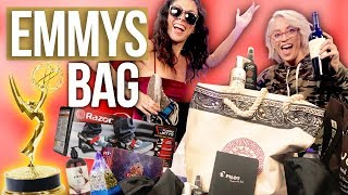 Opening the $60,000 EMMYS Gift Bag!! (Beauty Break)