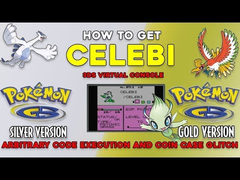 Pokemon Gold and Silver 3DS (VC): How to get CELEBI using the Coin Case Glitch