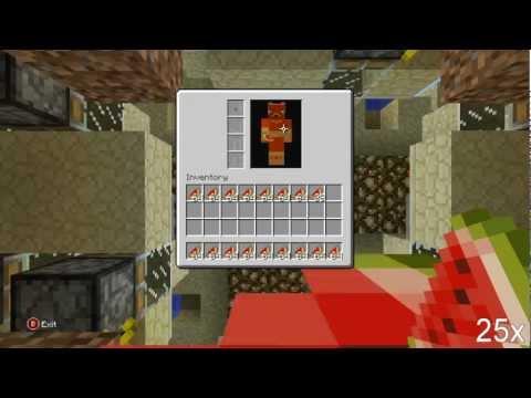 Minecraft Xbox: Automatic Melon Farm (17k Per Hour)