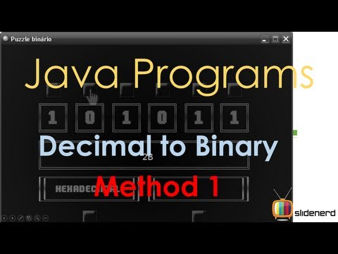 42 Java Decimal To Binary Method 1 |