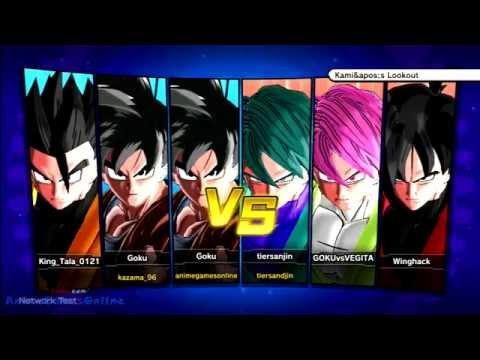 Dragon Ball Xenoverse 3-vs-3 Online All BETA Characters (English)