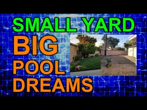 Demolition Day Time Lapse Video Episode 5  Small Yard Big Pool Dreams