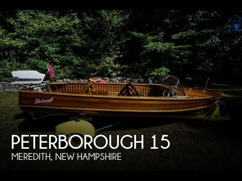 Used 1953 Peterborough 15 for sale in Meredith, New Hampshire