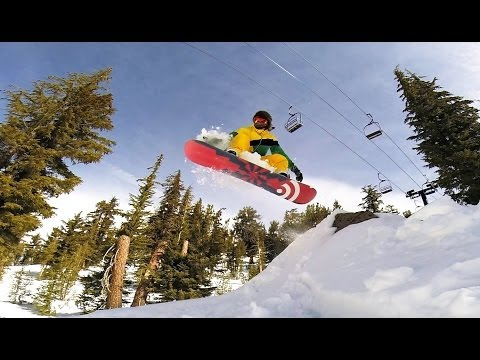 Snowboarding with a GoPro 3+ Black 2014 edit