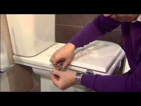 How to replace a Sottini Reprise with a Copriwater Toilet Seat