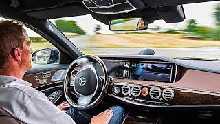 Mercedes Intelligent Drive Next Step To Self Driving Car Mercedes S Class 2016 CARJAM TV