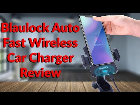 Blaulock Auto Fast Wireless Car Charger Review - YouTube Tech Guy