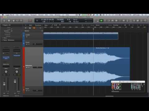 Logic Pro X click and loop template (reference track controller)