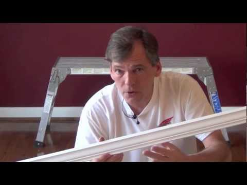 How to install crown molding part 1